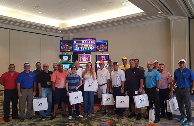 Los operadores de Puerto Rico impresionados con los productos de Win Systems<br />