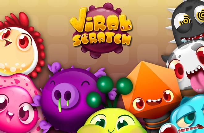 Viral Scratch, el &uacute;ltimo juego de R. Franco Digital, llega a Wanabet<br />