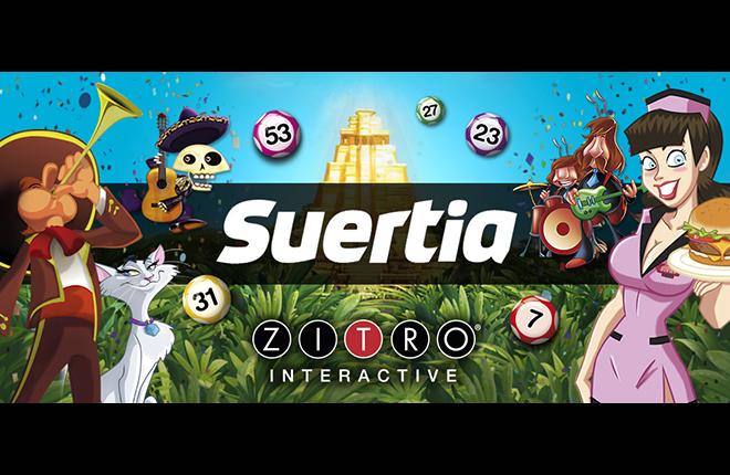 Zitro amplía su oferta de juegos online en Suertia