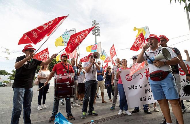UGT presenta un recurso de reposición contra el acuerdo del Cabildo de Tenerife para vender sus casinos