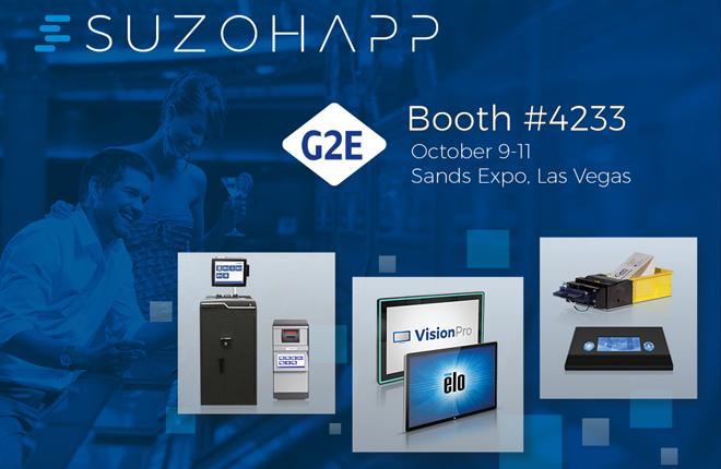 SUZOHAPP expone en G2E <br />