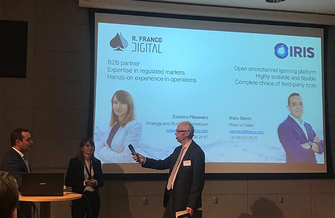 R.Franco Digital aporta su <em>expertise</em> en el Industry Day celebrado en Suecia <br />