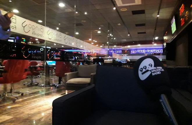 La 99.9 retransmitirá los partidos del Valencia CF desde la zona JUEGGING del Bingo TRESFORQUES