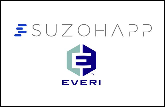 SuzoHapp y Everi se asocian para ofrecer una solución única de gestión de efectivo en los casinos