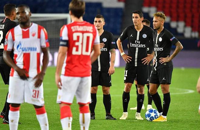 Francia investiga el posible ama&ntilde;o del PSG - Estrella Roja de la Champions<br />