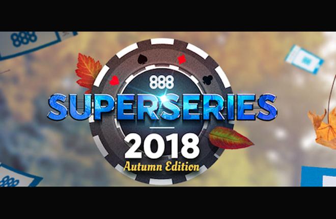 Las 888 SuperSeries 2018 Autumn Edition ya est&aacute;n en marcha <br />