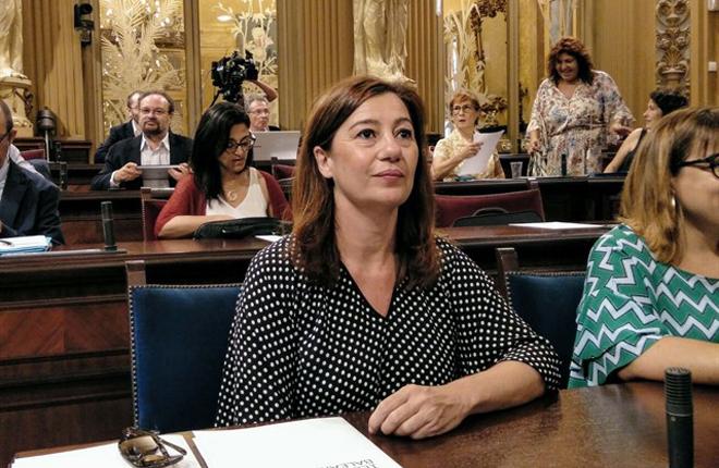 Armengol asegura que el reglamento de apuesta h&iacute;pica de Baleares se aprobar&aacute; en 2019<br />