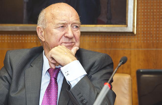 Jos&eacute; Luis de Pedro, el presidente de mayor mandato en ASEJU (18 a&ntilde;os)<br />