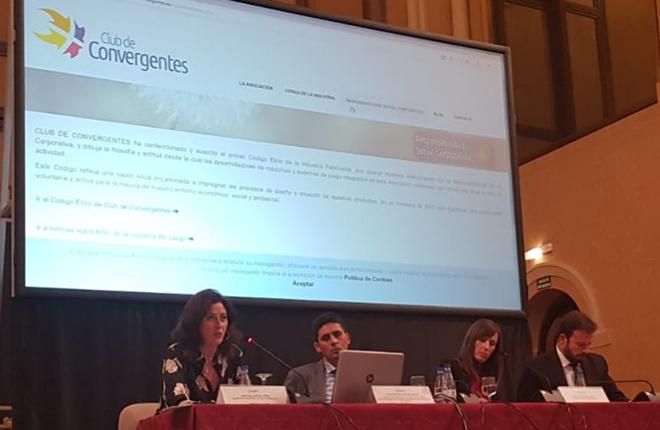 Cristina Garc&iacute;a (Club de Convergentes) destaca &quot;el escaso margen que en RSC&nbsp;tienen las empresas del juego&quot;<br />