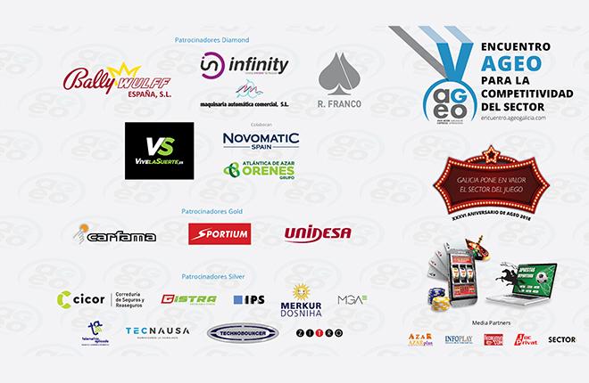 19 empresas patrocinan el V Encuentro AGEO<br />