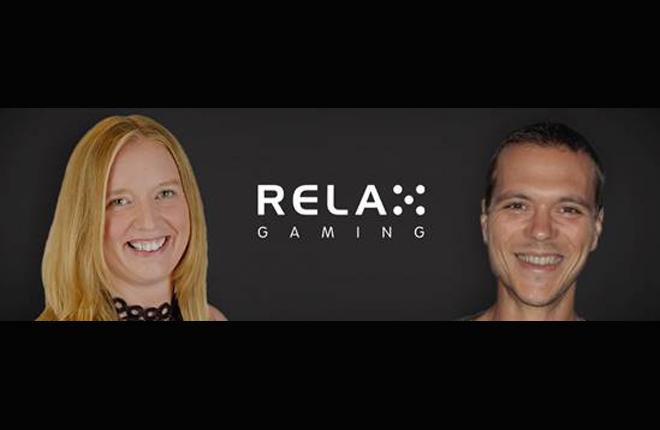Relax Gaming incorpora a Shelley Hannah y Uros Bohinc<br />