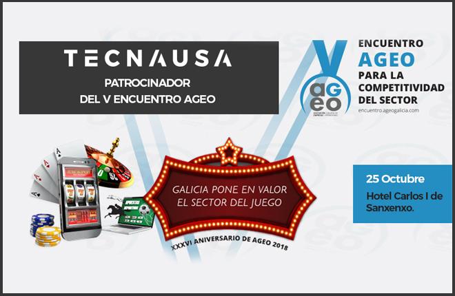 Tecnausa, patrocinador del V Encuentro AGEO<br />