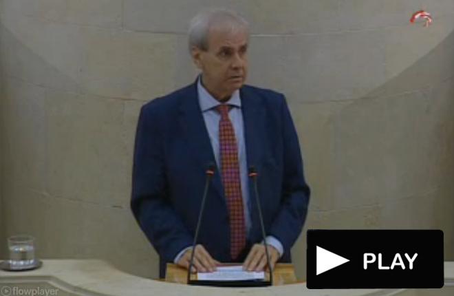 El Consejero de Presidencia y Justicia de Cantabria anuncia un programa de JUEGO&nbsp;RESPONSABLE<br />