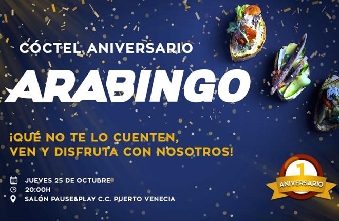 <strong>ESTOS SON LOS DATOS DEL PRIMER A&Ntilde;O DE ARABINGO</strong><br />