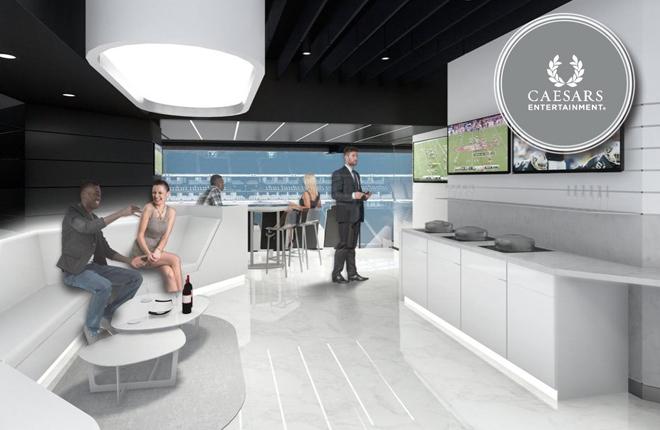 Caesars Entertainment se convierte en el primer socio fundador del Estadio de Las Vegas, Future Home of the Raiders<br />