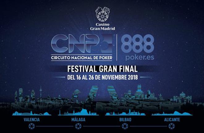 CNP888 Madrid prevé superar los 800 jugadores en su torneo principal