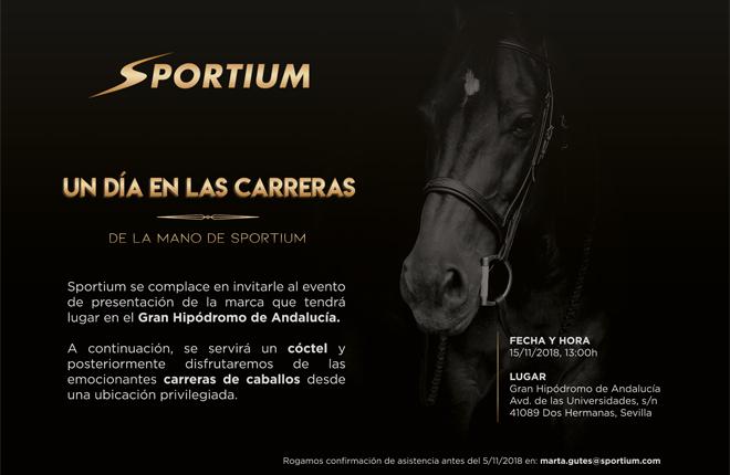 Un d&iacute;a en las carreras con Sportium en Andaluc&iacute;a<br />