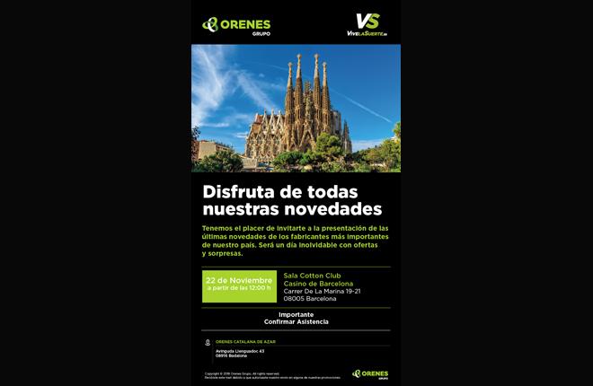 Presentaci&oacute;n de Orenes en el Casino de Barcelona<br />