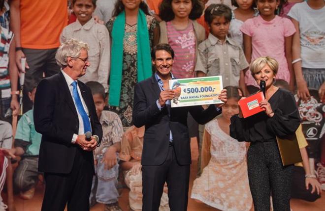 Rafa Nadal renueva su compromiso como embajador internacional de la loter&iacute;a holandesa<br />
