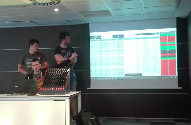 Alumnos de la Escuela Polit&eacute;cnica de Mondrag&oacute;n (Gipuzkoa) presentan un proyecto de innovaci&oacute;n basado en un juego de azar<br />