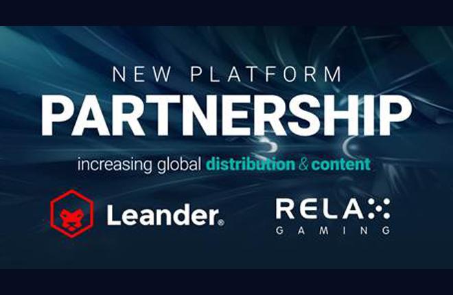 Colaboraci&oacute;n entre Relax Gaming y Leander Games<br />