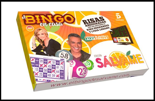 &iexcl;Hasta a S&aacute;lvame le gusta el bingo!<br />
