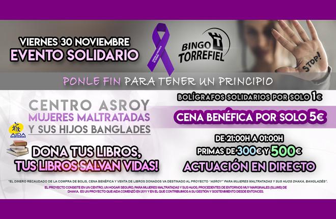 Bingo Torrefiel y Aida Books: unidos contra la violencia de g&eacute;nero<br />