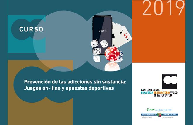 El Observatorio Vasco de la Juventud organiza un curso sobre prevenci&oacute;n del juego online y las apuestas deportivas<br />