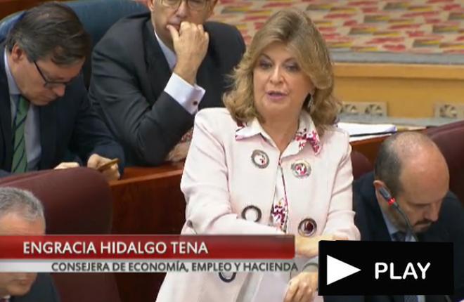 <strong>Engracia Hidalgo tacha de demagogo al podemita Delgado ante la absurda denuncia a una m&aacute;quina A en un centro comercial</strong><br />