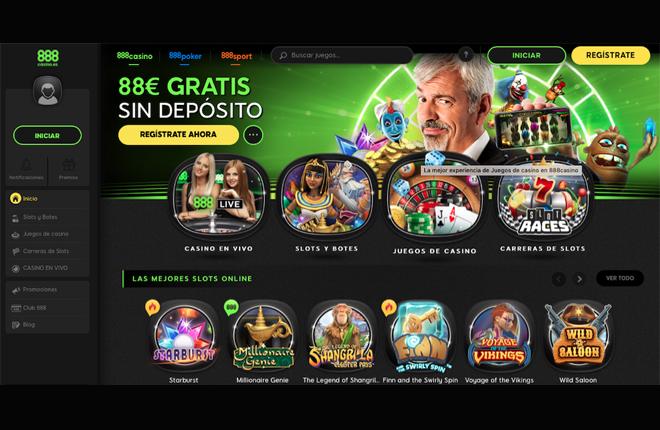 888Casino redise&ntilde;a su web y su oferta de juego<br />