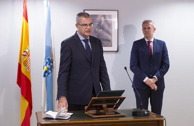 Santiago Villanueva sustituye a Luis Menor como regulador del juego en Galicia<br />