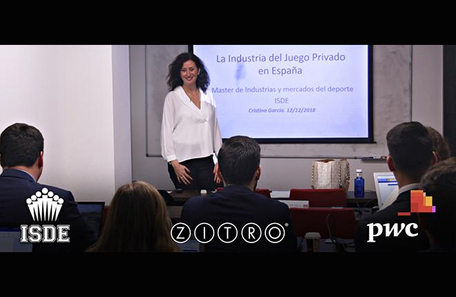 Zitro colabora con ISDE PwC en la formaci&oacute;n de profesionales ligados a la Industria del entretenimiento<br />