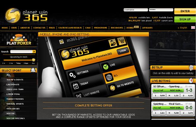 Planetwin365 usará el software de Wiraya