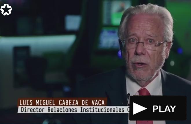 Brillante intervenci&oacute;n de Luis Miguel Cabeza de Vaca en Telemadrid<br />