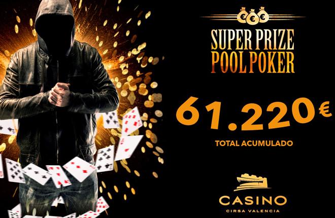 El bote a&ntilde;adido del Superprizepool de Casino Cirsa Valencia se cierra en 61.220&euro;<br />