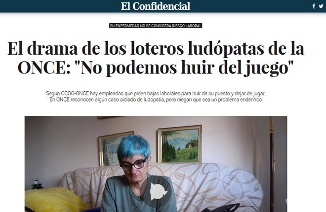 &iexcl;POR FIN LA PRENSA GENERALISTA HABLA DE LOS LUD&Oacute;PATAS DE LA ONCE!<br />