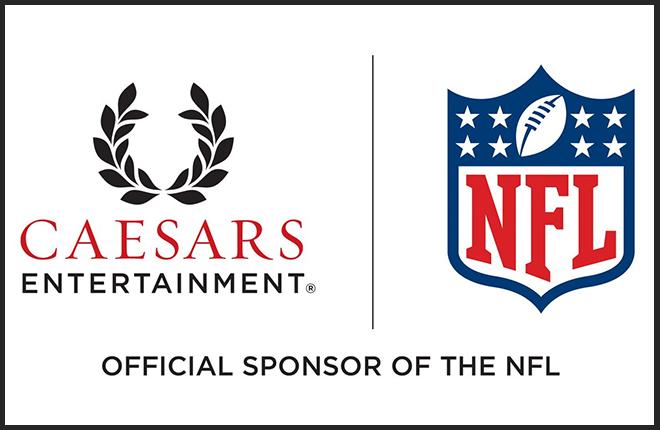 Caesars será el primer socio de casino de la Liga de Fútbol Americano NFL