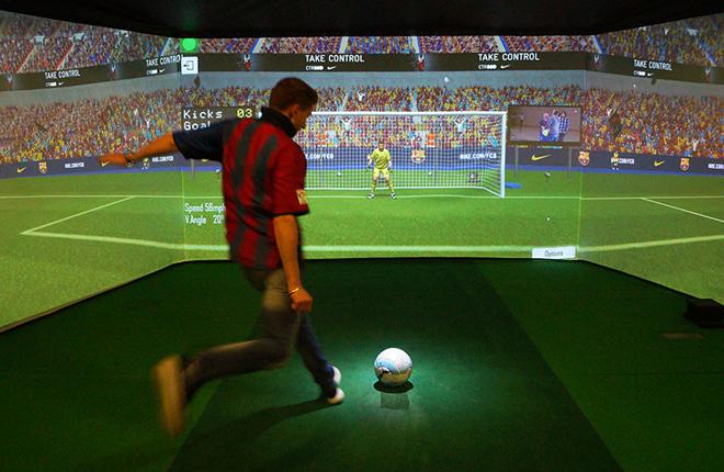 Los simuladores deportivos clave en la evolución de los centros de ocio familiar