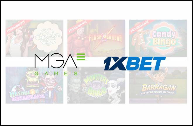 MGA Games firma un acuerdo con el operador internacional 1XBet<br />