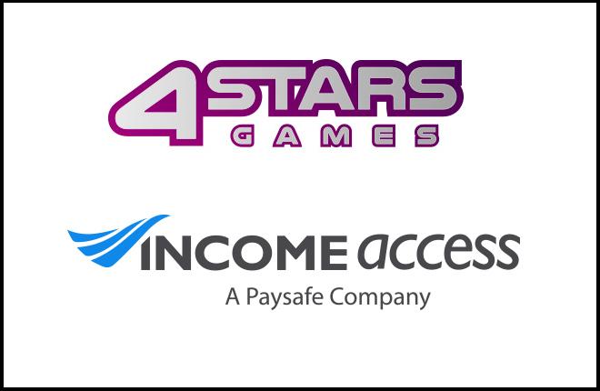 El casino 4StarsGames lanza un programa de afiliaci&oacute;n con Income Access<br />