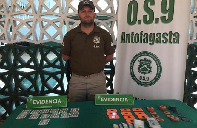 Cuatro detenidos por usar cartas entintadas en el casino de Antofagasta<br />