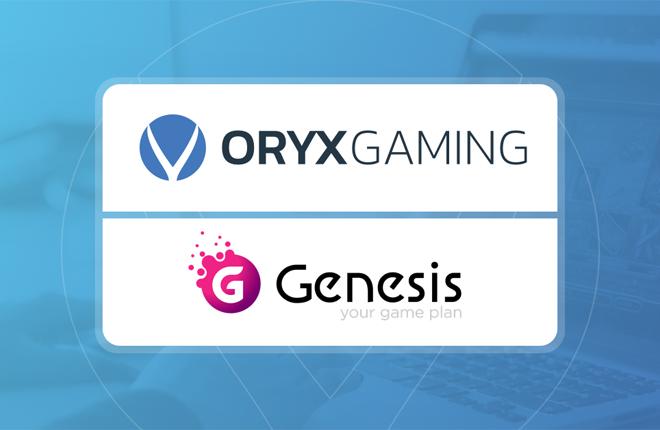 ORYX Gaming lanza sus productos en 7 marcas de Genesis Global<br />