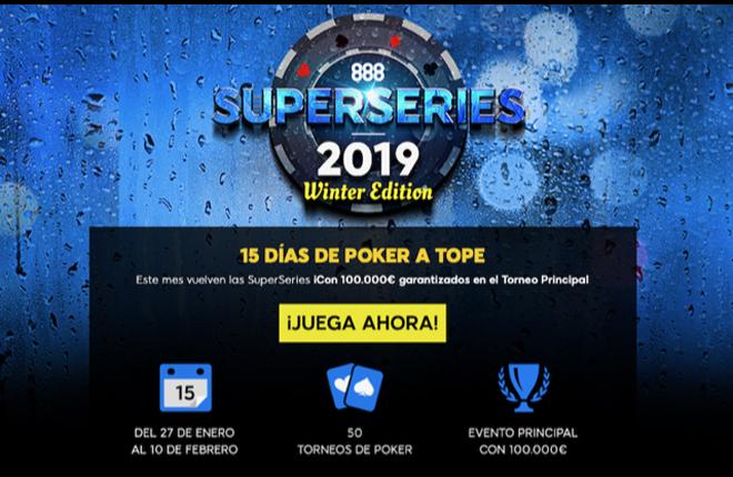 Las 888 SuperSeries repartir&aacute;n m&aacute;s de 300.000 &euro; en premios<br />