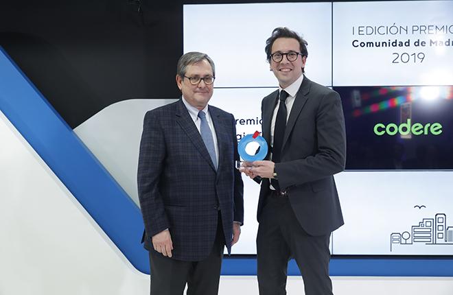 La estrategia empresarial de Codere, reconocida en los &ldquo;Premios Comunidad de Madrid&rdquo; de La Raz&oacute;n<br />