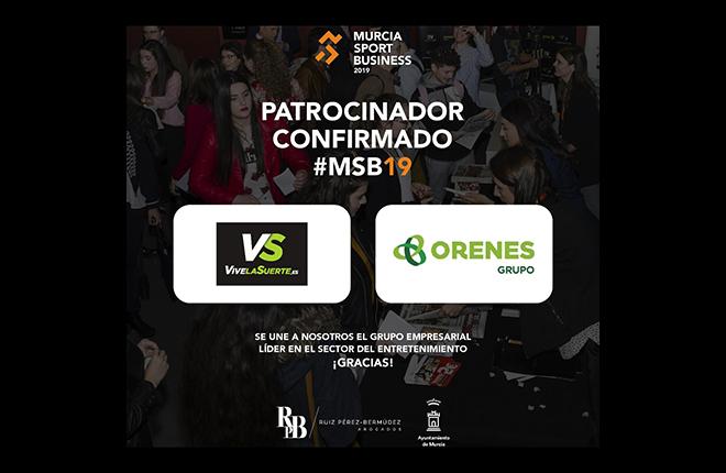 VivelaSuerte y Orenes, patrocinadores del Murcia Sport Business<br />