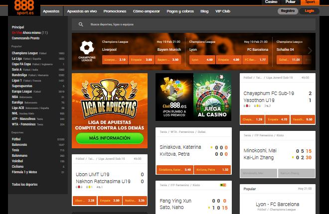 Pr&oacute;rroga de la licencia de apuestas deportivas de contrapartida de 888 Spain<br />