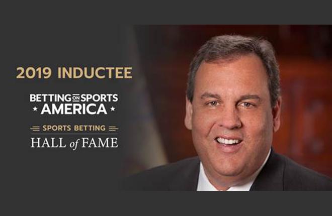 El Gobernador Chris Christie será reconocido por la industria de las apuestas deportivas de EE.UU