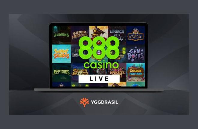 Yggdrasil se pone en marcha con 888