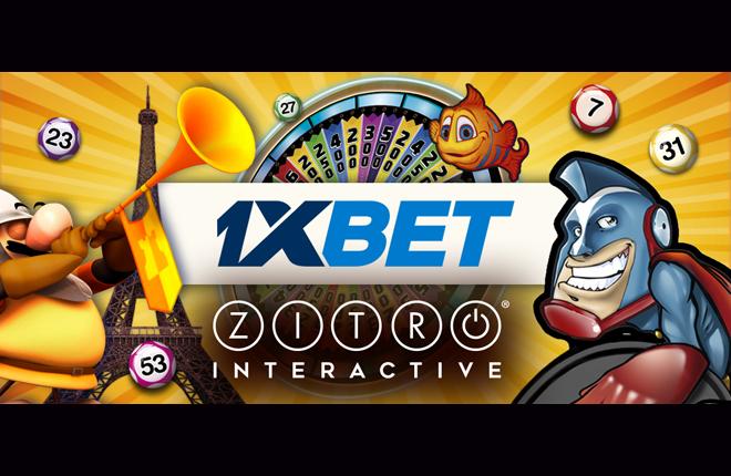 Los juegos online de Zitro llegan a 1xbet.com