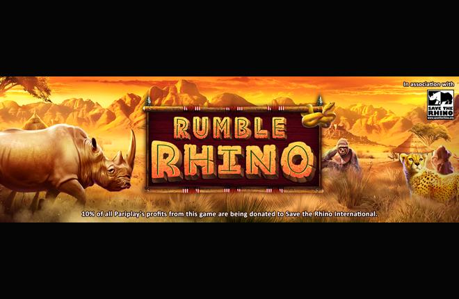 Pariplay lanza Rumble Rhino